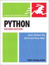 Python (eBook): Visual QuickStart Guide
