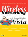 Wireless Networking with Microsoft Windows Vista (eBook)