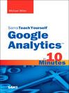 Sams Teach Yourself Google Analytics™ in 10 Minutes (eBook)