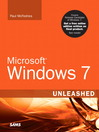 Microsoft® Windows 7 Unleashed (eBook)