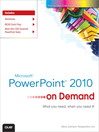 Microsoft PowerPoint 2010 On Demand (eBook)