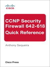 CCNP Security FIREWALL 642-618 Quick Reference (eBook)