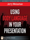 Using Body Language in Your Presentation (eBook)