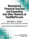Maintaining Financial Success and Expanding into Other Markets at FeedMyPet.com (eBook)