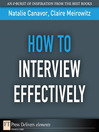 How to Interview Effectively (eBook)