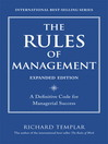 The Rules of Management, Expanded Edition (eBook): Eclipse Modeling Framework