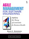 Agile Management for Software Engineering (eBook): Applying the Theory of Constraints for Business Results