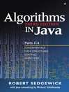 Algorithms in Java, Parts 1-4 (eBook): Fundamentals, Data Structures, Sorting, Searching