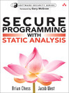 Secure Programming with Static Analysis (eBook): Understanding New Attacks and Defenses