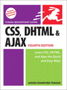 CSS, DHTML, and Ajax, Fourth Edition (eBook): Visual QuickStart Guide