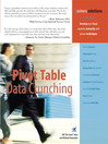 Pivot Table Data Crunching (eBook)
