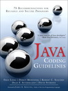 Java Coding Guidelines (eBook): 75 Recommendations for Reliable and Secure Programs