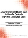 Airbus' Overstretched Supply Chain (eBook): Just How Far Can You Go Before Your Supply Chain Snaps?