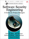Software Security Engineering (eBook): A Guide for Project Managers