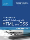Web Publishing with HTML and CSS in One Hour a Day (eBook)