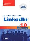 Sams Teach Yourself LinkedIn® in 10 Minutes (eBook)