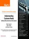 Understanding Customer Needs (Digital Short Cut) (eBook)