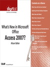 What's New in Microsoft Office Access 2007? (Digital Short Cut) (eBook)