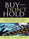 Buy--DON'T Hold (eBook): Investing with ETFs Using Relative Strength to Increase Returns with Less Risk