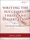 Writing the Successful Thesis & Dissertation (eBook): Planning and Maintaining a Microsoft Windows Server 2003 Network Infrastructure