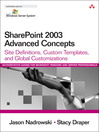SharePoint 2003 Advanced Concepts (eBook)