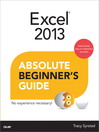 Excel 2013 Absolute Beginner's Guide (eBook)