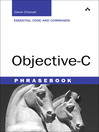 Objective-C Phrasebook (eBook)