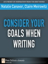 Consider Your Goals When Writing (eBook)