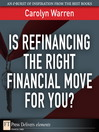 Is Refinancing the Right Financial Move for You? (eBook)