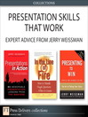 Presentation Skills That Will Take You to the Top (Collection) (eBook)