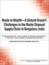 Waste to Wealth - A Distant Dream? (eBook): Challenges in the Waste Disposal