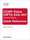 CCNP Voice CIPT2 642-457 Quick Reference (eBook)