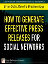 How to Generate Effective Press Releases for Social Networks (eBook)