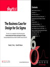The Business Case for Design for Six Sigma (Digital Short Cut) (eBook): Changing the Paradigm