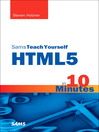 Sams Teach Yourself HTML5 in 10 Minutes (eBook)