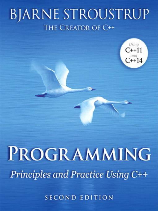 Programming (eBook): Principles and Practice Using C++