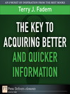 The Key to Acquiring Better and Quicker Information (eBook)