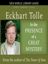 In the Presence of a Great Mystery (MP3)