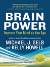 Brain Power (eBook): Improve Your Mind as You Age
