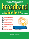 Cover image of The Beginner's Guide to Broadband and Wireless Internet