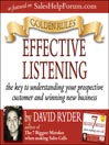 Golden Rules (MP3): Effective Listening