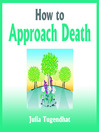 How to Approach Death (MP3)