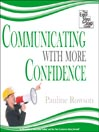 Communicating with More Confidence (MP3): The Easy Step by Step Guide
