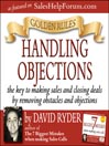 Golden Rules (MP3): Handling Objections