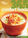 Better Homes and Gardens: 365 Comfort Foods (eBook)