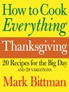How to Cook Everything Thanksgiving (eBook)