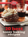 Betty Crocker 20 Best Boozy Baking Recipes (eBook)