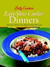 Betty Crocker's Easy Slow Cooker Dinners (eBook)