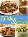 Betty Crocker Quick & Easy (eBook)