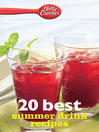 Betty Crocker 20 Best Summer Drink Recipes (eBook)